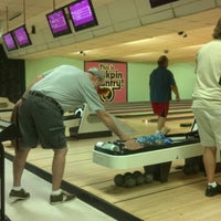 Photo taken at Mt. Airy Duckpin Bowling Lanes by Sean M. on 9/20/2012
