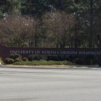 Photo taken at University of North Carolina Wilmington by Michael C. on 3/18/2013