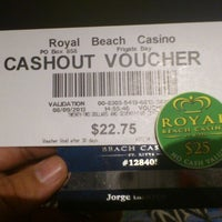 Photo taken at The Royal Beach Casino by Jorge T. on 8/9/2013