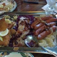 Photo taken at Rheinlander German Restaurant by The Z. on 9/24/2012