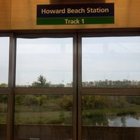 Photo taken at JFK AirTrain - Howard Beach by Katherine P. on 10/25/2012