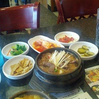 Photo taken at BCD Tofu House by Suelen L. on 7/10/2013