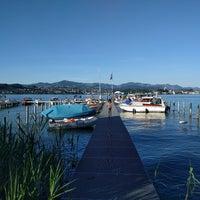 Photo taken at Insel Lützelau by Samuel W. on 6/18/2017