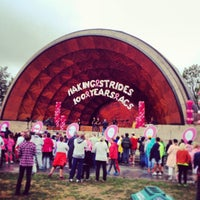 Photo taken at DCR Hatch Memorial Shell by Julie B. on 10/6/2013