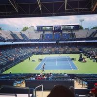 Photo taken at Rock Creek Tennis Center by PJ W. on 8/1/2015