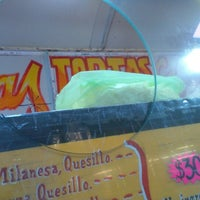 Photo taken at Ricas Tortas Calientes by Pablo M. on 10/14/2014