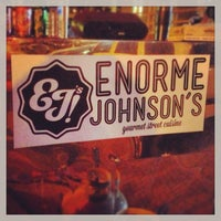 Photo taken at Enorme Johnson's Gourmet Street Cuisine by Sylvonna R. on 8/25/2013