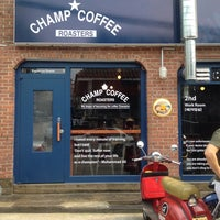 Photo taken at Champ Coffee by Lee j. on 8/23/2014