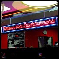 Photo taken at Steak 'n Shake by Allie T. on 12/26/2012
