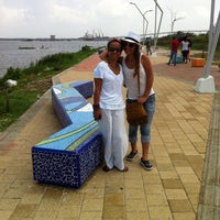 Photo taken at Nuevo Malecon - Barranquilla by María C. on 9/14/2014