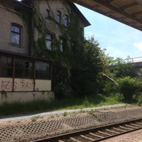 Photo taken at Bahnhof Horka by Ina B. on 5/29/2015