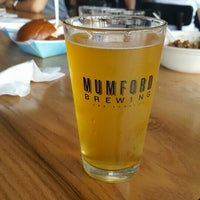 Photo taken at Mumford Brewing by Kim H. on 6/5/2016