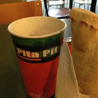 Photo taken at Pita Pit by Jeff H. on 1/24/2013