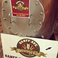 Photo taken at Banff Avenue Brewing Co. by Jeff H. on 4/11/2013