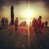 Photo taken at Kudos Beach by Bogdan N. on 5/5/2013