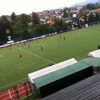 Photo taken at Stadion in nogometno igrišče Rudar by Adam M. on 10/6/2013