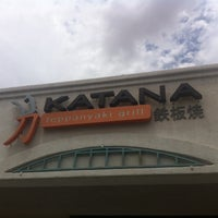 Photo taken at Katana Teppanyaki Grill by Caroline L. on 8/7/2014