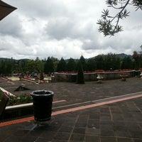 Photo taken at Taman Bunga Nusantara by Enrico D. on 1/23/2013