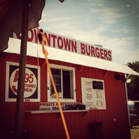Photo taken at Down Town Burgers by CHRISTOPHER F. on 6/8/2015