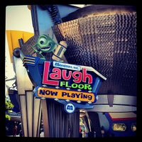 Photo taken at Monsters, Inc. Laugh Floor by Uğur Varol A. on 2/1/2013