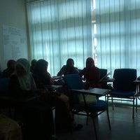 Photo taken at Lecture Room 2, TELTTraC by Irsyad I. on 8/24/2014