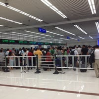 Photo taken at Huanggang Immigration Port by Johnson H. on 10/12/2012