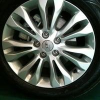Photo taken at CAOA Hyundai Raposo Tavares by Deise T. on 9/17/2012