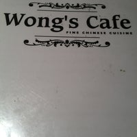 Photo taken at Wongs Cafe by Edwina on 7/20/2013