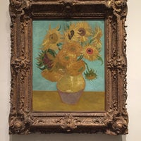 Photo taken at Sunflowers by Vincent Willem van Gogh by Edwina on 12/3/2016