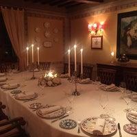 Photo taken at Relais Il Falconiere Hotel Cortona by Esra O. on 10/15/2016