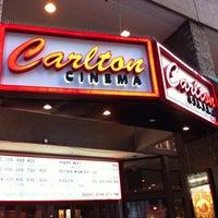 Photo taken at Magic Lantern: Carlton Cinema by James V. on 9/14/2013