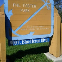Photo taken at Phil Foster Park by Chet T. on 2/17/2013