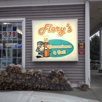 Photo taken at Flory's Convenience & Deli by VW Mama on 12/16/2012