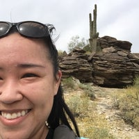 Photo taken at Mormon Trailhead by Angela R. on 4/9/2017