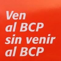 Photo taken at Banco de Crédito BCP by Álvaro S. on 6/19/2013