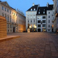 Photo taken at Judenplatz by Boris G. on 4/14/2013