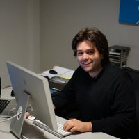 Photo taken at x2interactive by Spyros P. on 1/29/2014