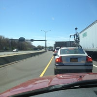 Photo taken at I-95 -- East Lyme by Adrienne W. on 4/30/2013