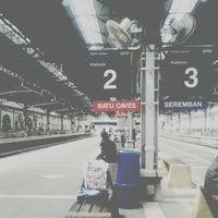 Photo taken at Kuala Lumpur Sentral Station by Aizat_J on 4/8/2013