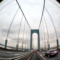 Photo taken at Bronx-Whitestone Bridge by Joshua on 1/13/2013