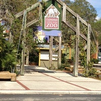 Photo taken at Tampa's Lowry Park Zoo by Rob O. on 2/16/2013