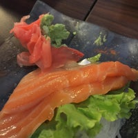 Photo taken at Sushi Nobu by anne t. on 7/3/2016