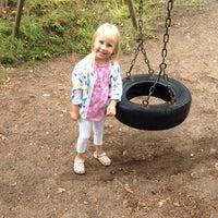 Photo taken at Juhaninkujan leikkipaikka by Meri V. on 8/19/2014
