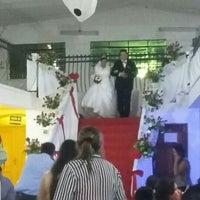 Photo taken at Salón de Fiestas 'Los Gemelos' by Bianca R. on 2/21/2016