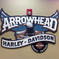 Photo taken at Arrowhead Harley-Davidson by Brian H. on 11/29/2014