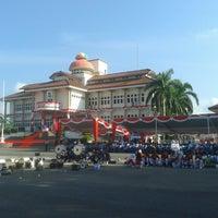 Photo taken at Halaman Kantor Walikota Pangkalpinang by Widi D. on 8/17/2014