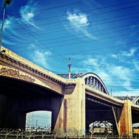 "Photo taken at Sixth Street Bridge by ! ! ""Backstage Gabe . on 8/3/2013"