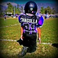 "Photo taken at Rancho Cucamonga Pop Warner Field by ! ! ""Backstage Gabe . on 10/14/2012"