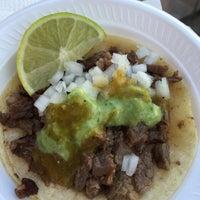 Photo taken at Tacos El Chivo by Lena K. on 1/31/2015