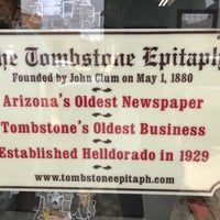 Photo taken at Tombstone Epitaph by Lena K. on 6/9/2018